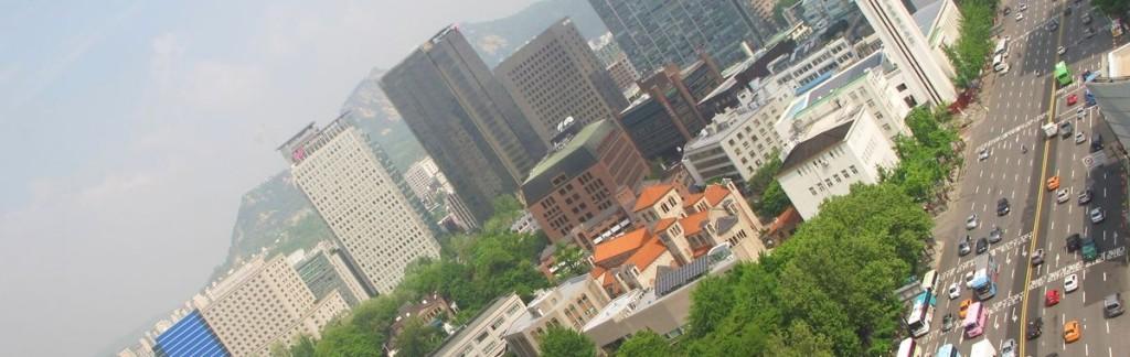 Seoul, an ambitious Asian metropolis.