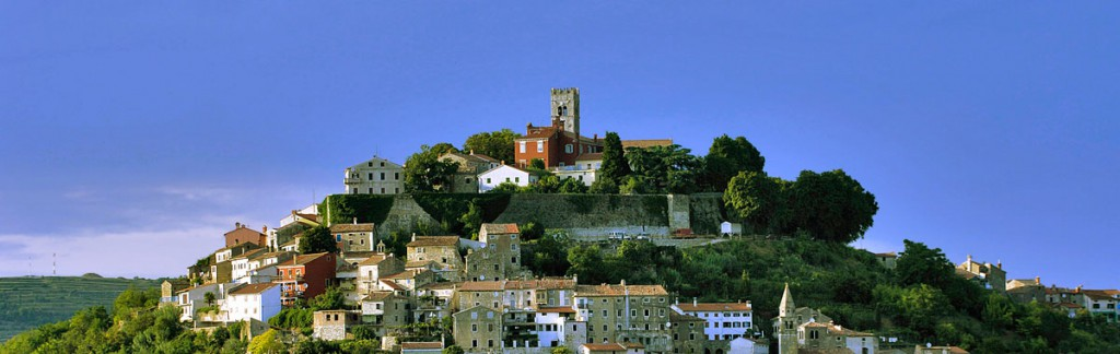 Motovun in Istria is an area for fine dining and: truffles!