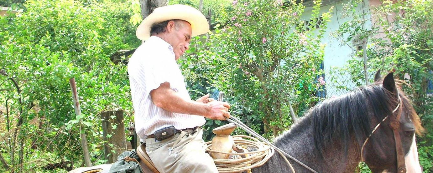 A Gaucho somewhere in the Mexican wilderness.