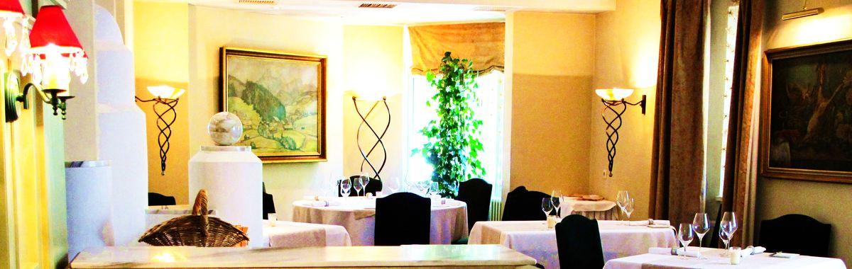 Interior of Johanna Meier's culinary Restaurant in Filzmoos.