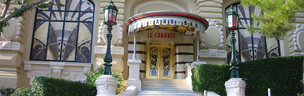 Le Cabaret at the Casino in Monac
