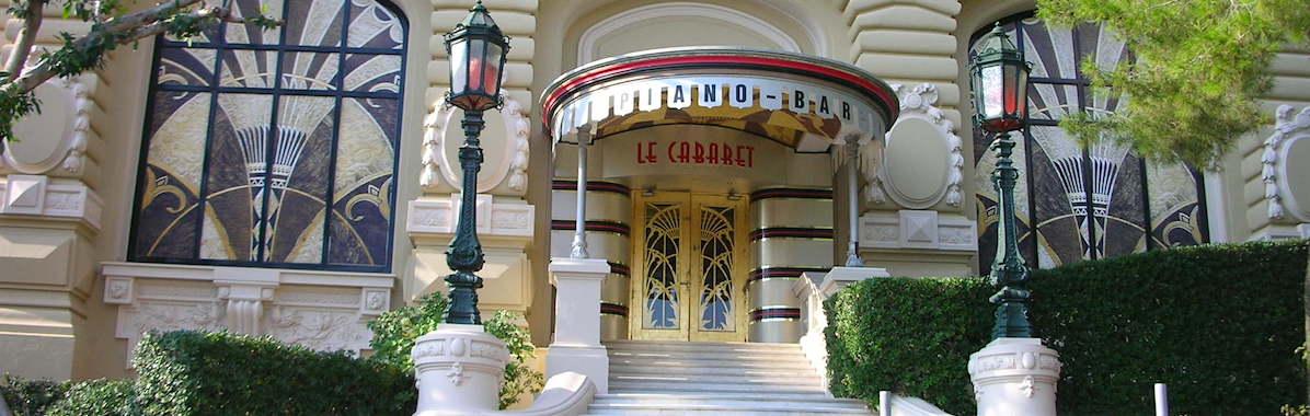 Le Cabaret at the Casino in Monac