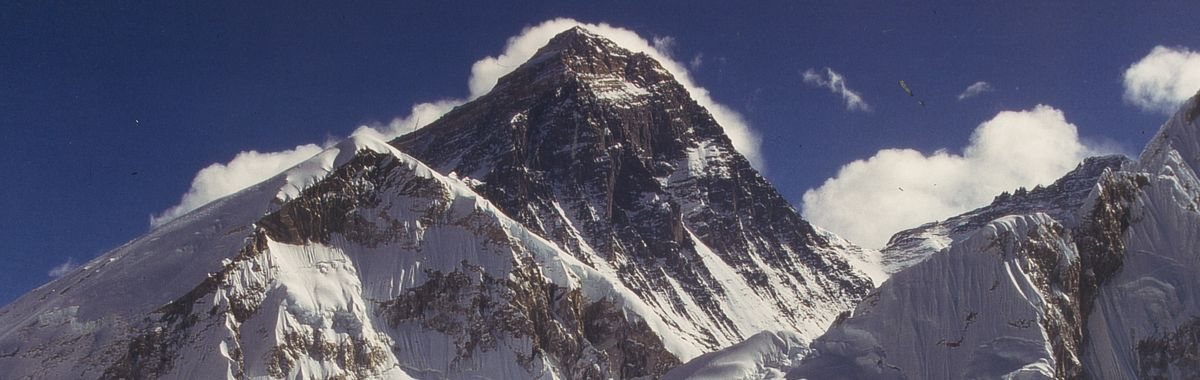 Himalayan giant Mount Everest.