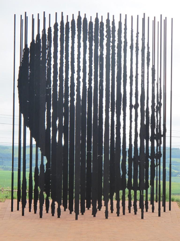Nelson Mandela Monument near Howick in KwaZulu Natal.