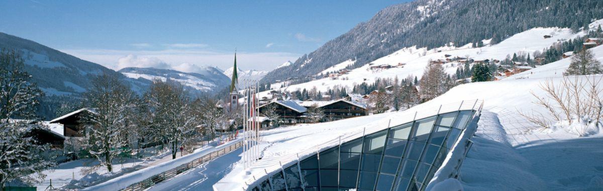 All in white: A glimpse of Alpbach in Tyrol in winter.