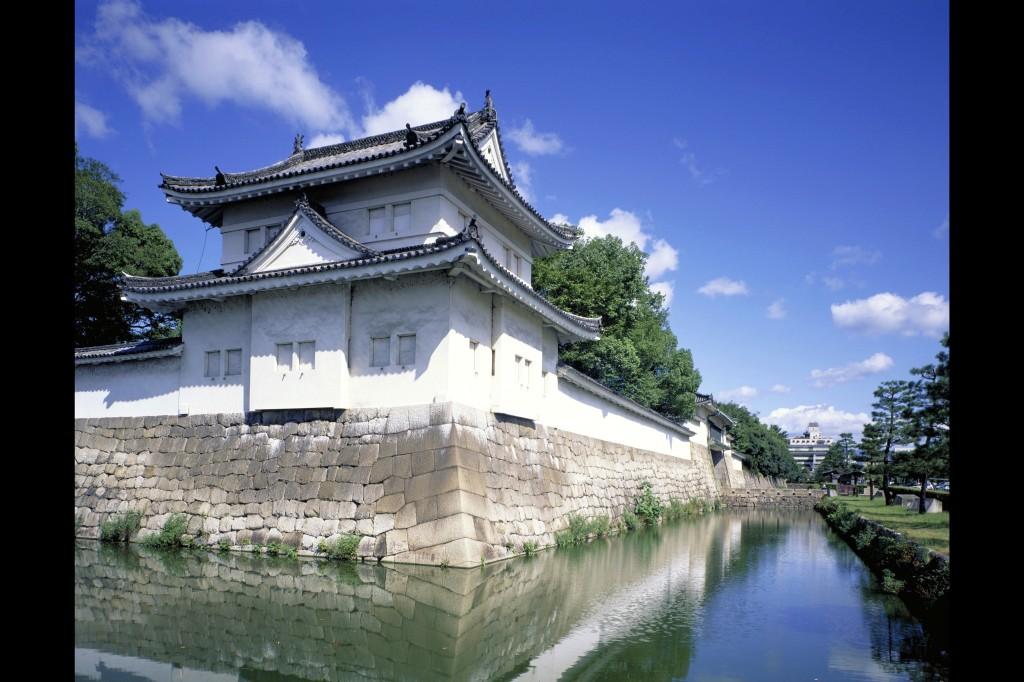 Nijo-jo Castle in Kyoto.