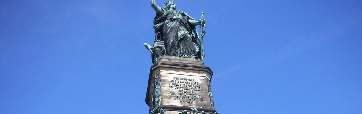 Above the River Rhine: Germania - the German Statue of Liberty