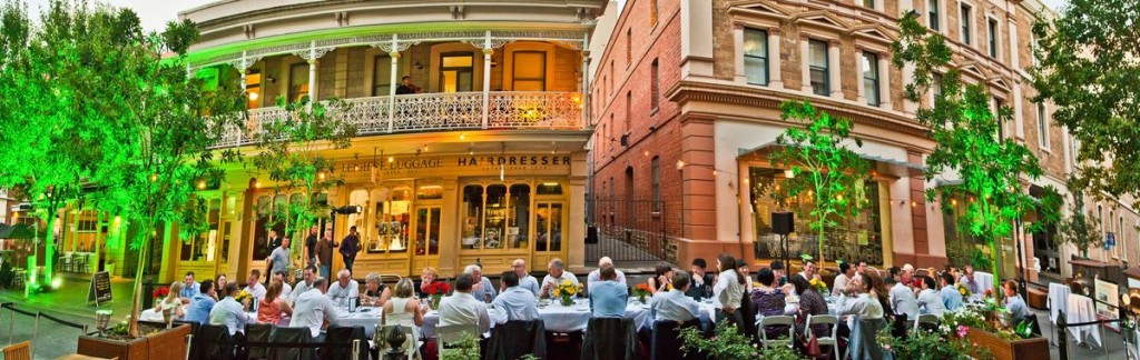 Feasting in the streets: Adelaide's Food and Wine Festivals are legendary.