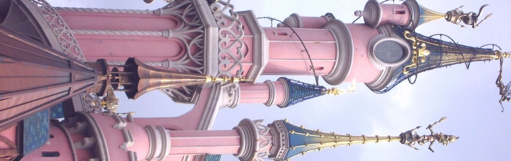 Pink for girls: Sleeping Beauty's castle at Disneyland Paris - excellent fairy-tale stuff.