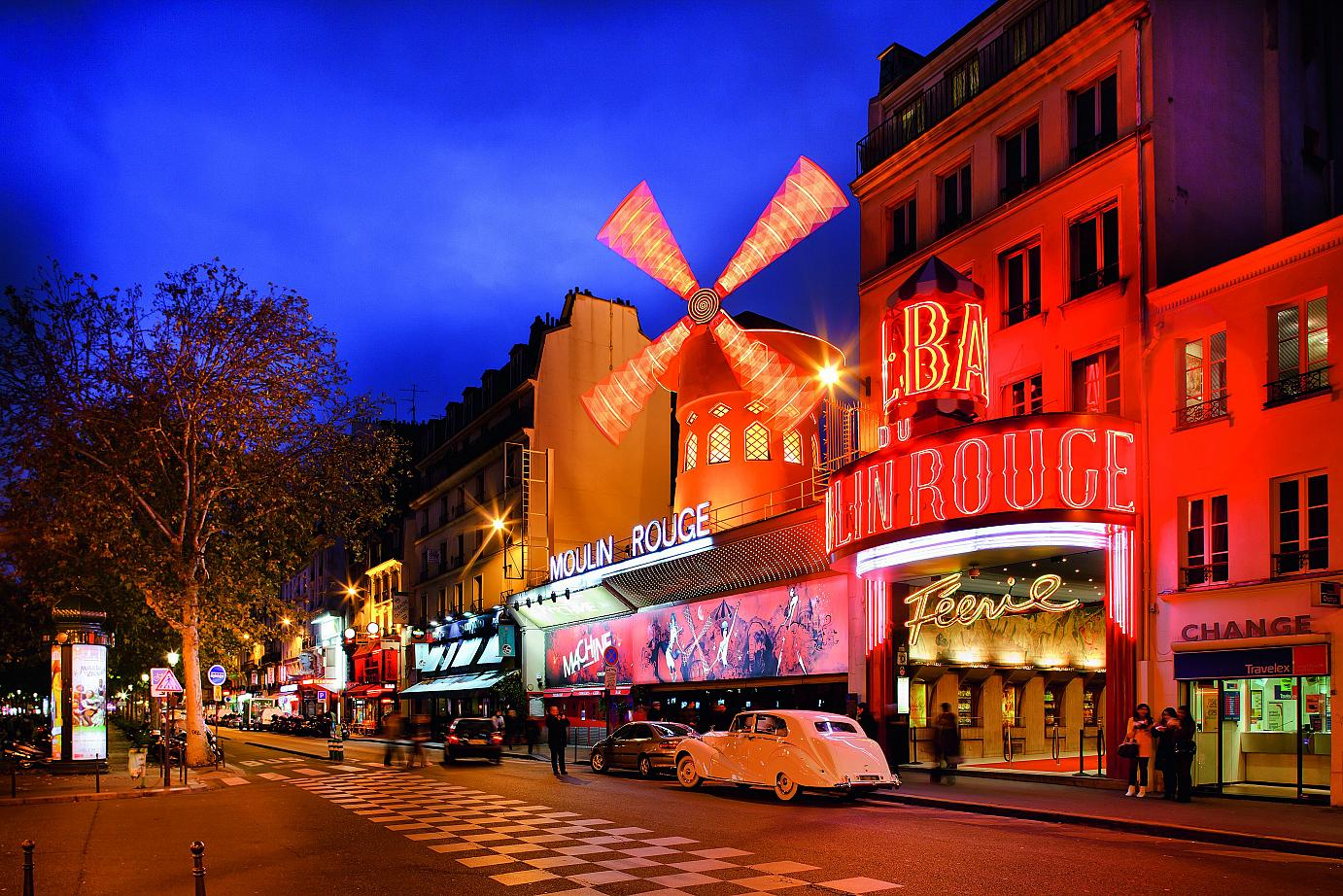 Moulin Rouge - an establishment famous the world over.