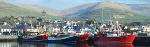 Dingle Harbour in Ireland