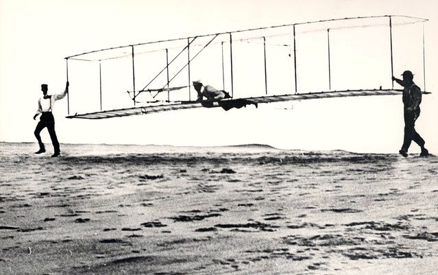 Orville and Wilbur Wright knew no fear and displayed sturdy perseverance.