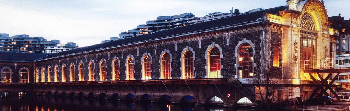 A hydro-electric power plant in Geneva/Switzerland converted into a venue: The Bâtiment des Forces Motrices
