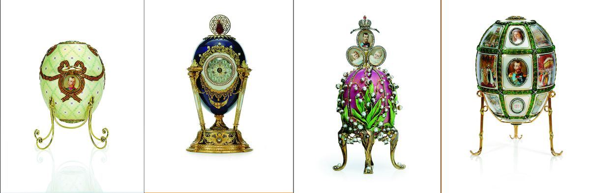 Fabergé Eggs: embellishing objects