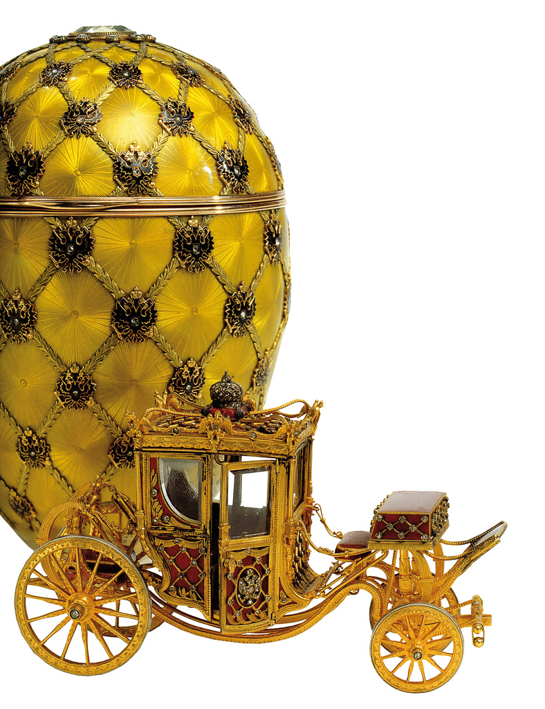 Another fine example of Fabergé craftsmanship.