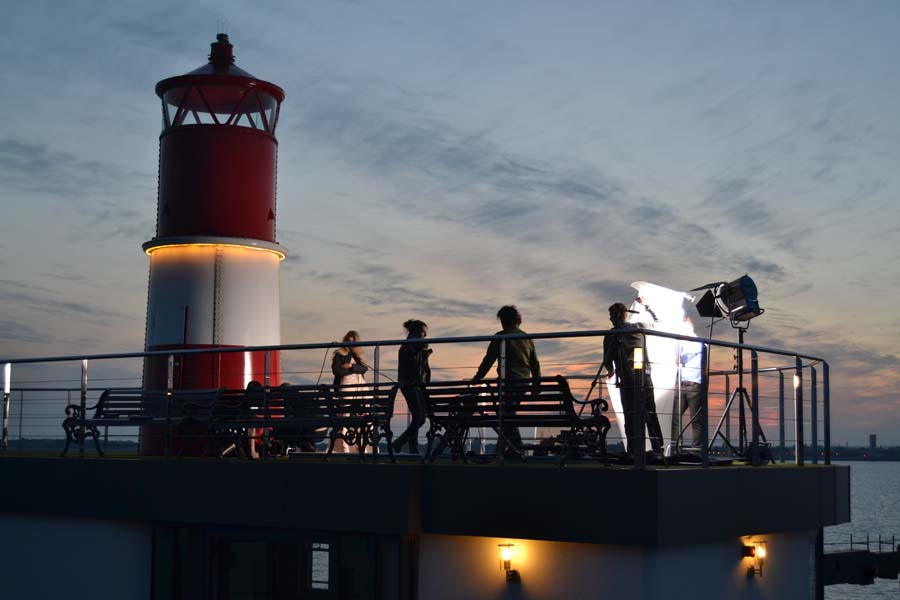 Spitbank Fort is popular for photo shoots and product launches