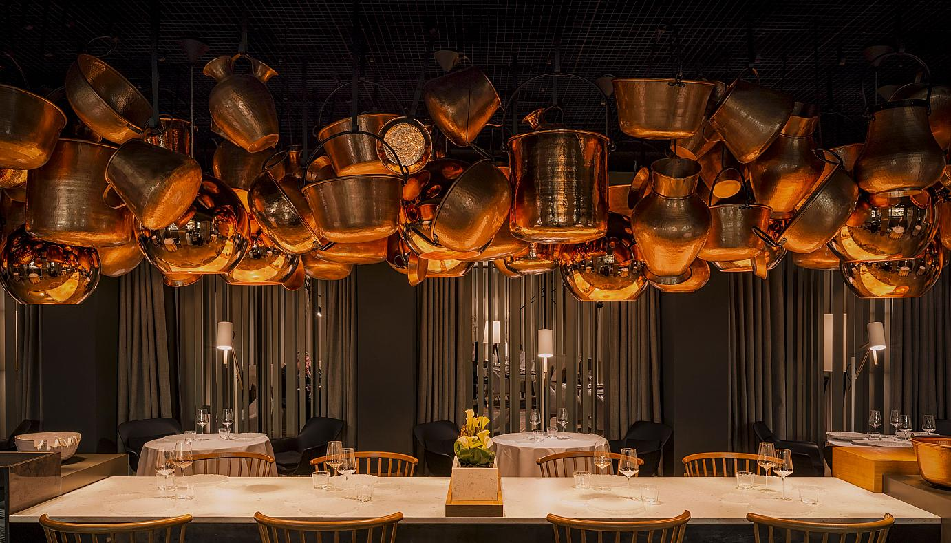 The fine dining restaurant Cinco by Paco Perez holds a Michelin star.