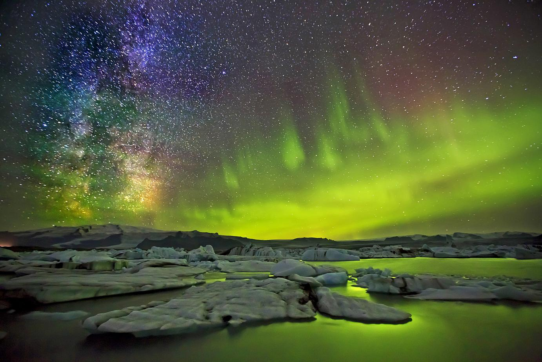 Aurora Borealis in Iceland.