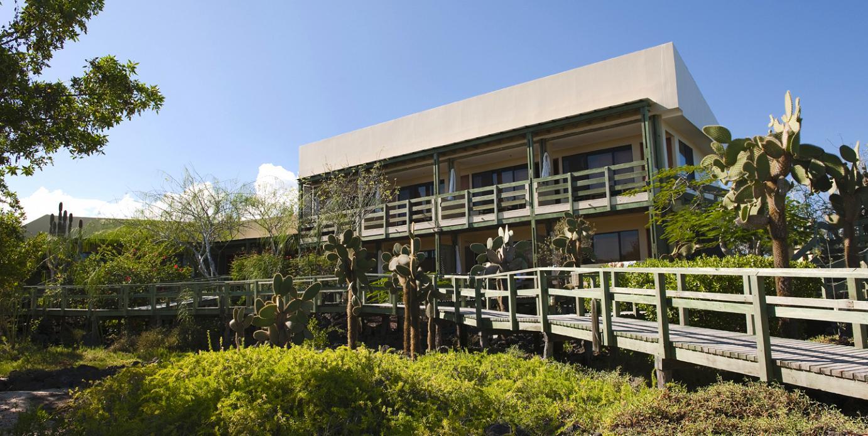 The Finch Bay Eco Hotel on the Galápagos isle of Santa Cruz