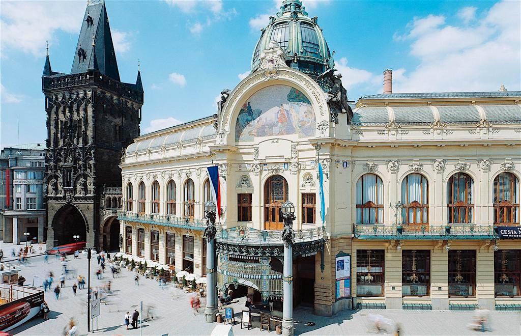 Obecní dům in Prague