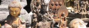 Buddha statues in South Korea