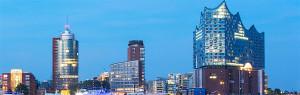 Exterior of the Elbphilharmonie in Hamburg. Copyright: Thies Raetzke