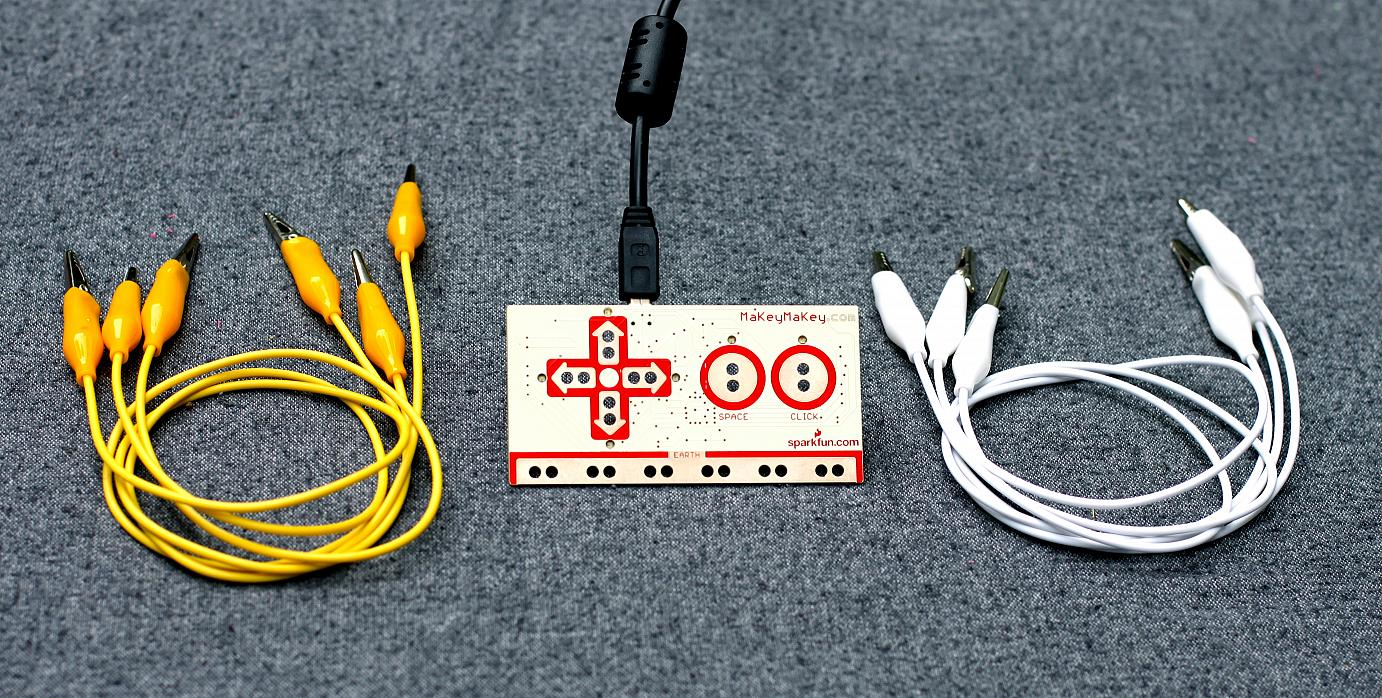 The MaKey MaKey kit