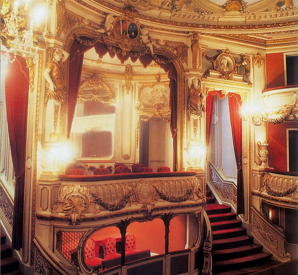 Théâtre du château in Chimay/Belgium