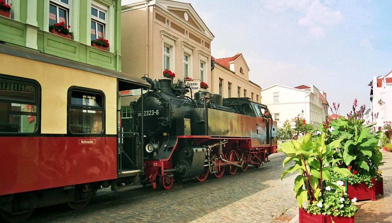 Bad Doberan Molli steam train