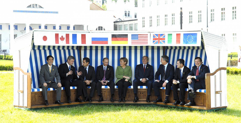 G8 summit 2007_Family photo