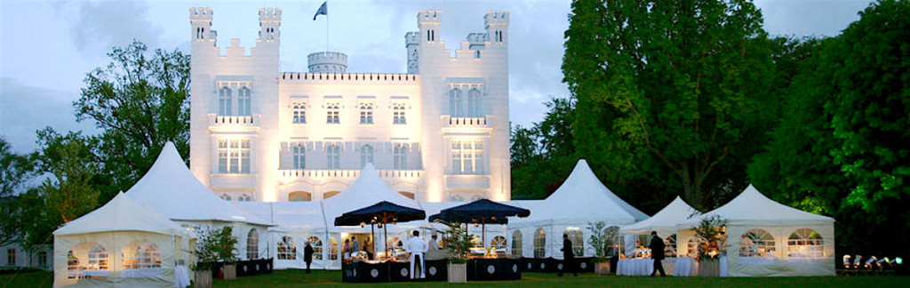 Heiligendamm. An incentive event in front of Hohenzollern Castle