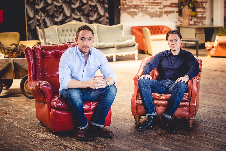 Matt Grech-Smith & Jeremy Simmonds of Swingers in London
