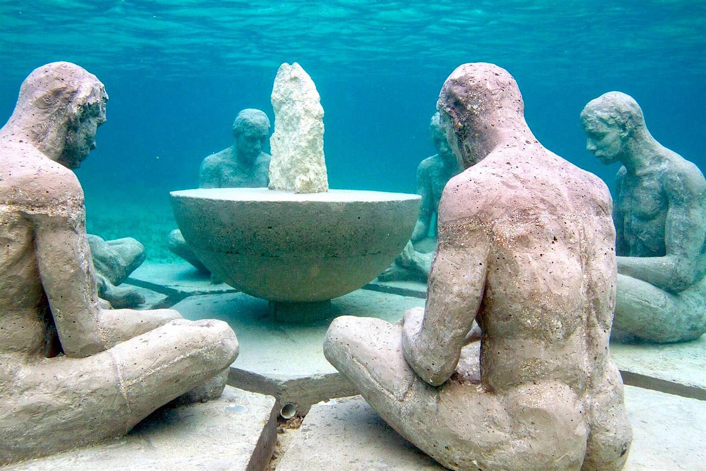 """Understanding"" by sculptor Elier Amado-Gil."