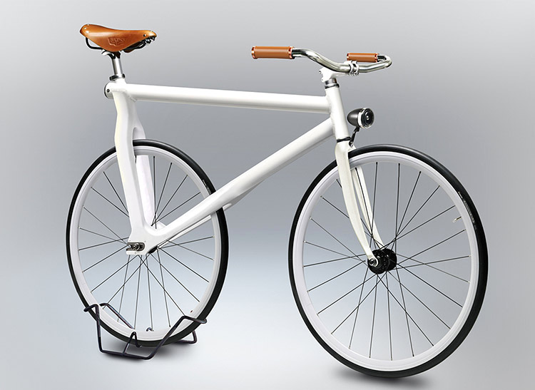 A pedigree velocipede: who needs pedals or a chain?