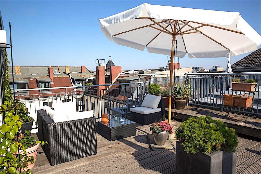 Hotel Art Nouveau Berlin Roof Terrace