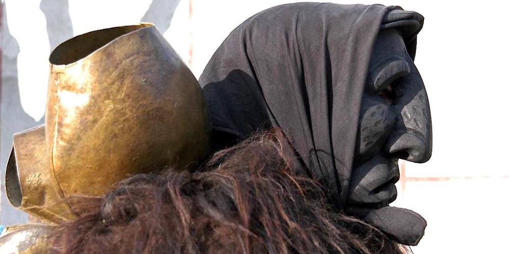Mamuthone Mask_Credits: Enrico Spanu:www.enricospanu.com. License: CC BY-NC-SA..